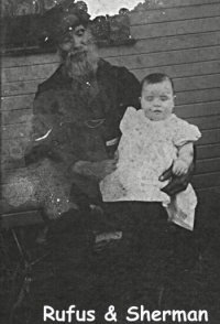 Photo of Rufus Erwin Foor and son Sherman